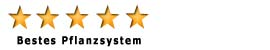 Bestes Pflanzsystem_Bewertungssterne V03