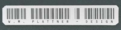 W. M. Plattner-Design