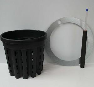 HPL-System für Chamäleon Pflanzgefäße